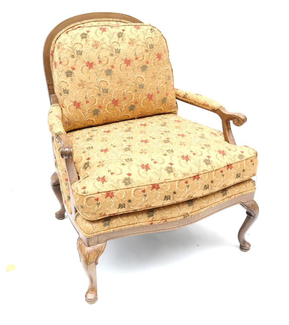 Queen Anne-Style Armchair