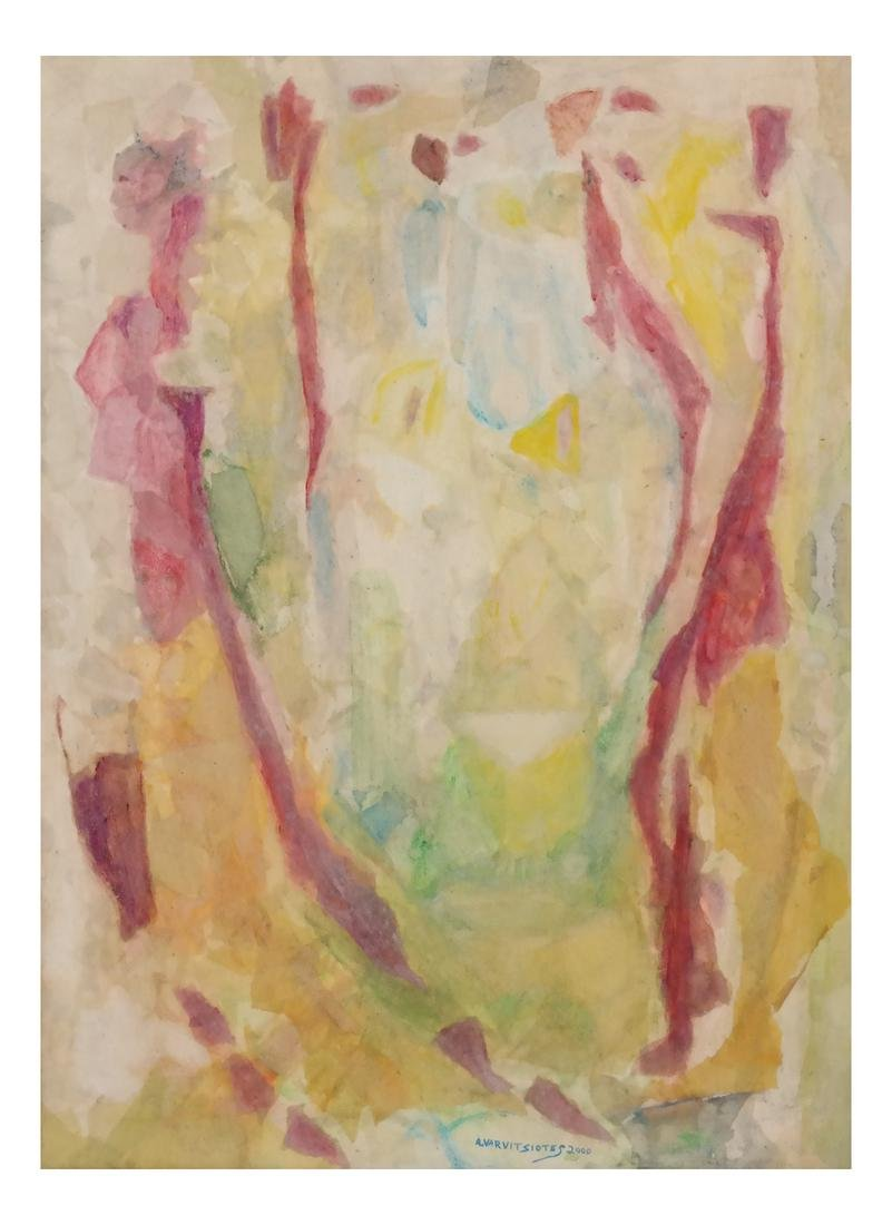 Abstract Figural Composition