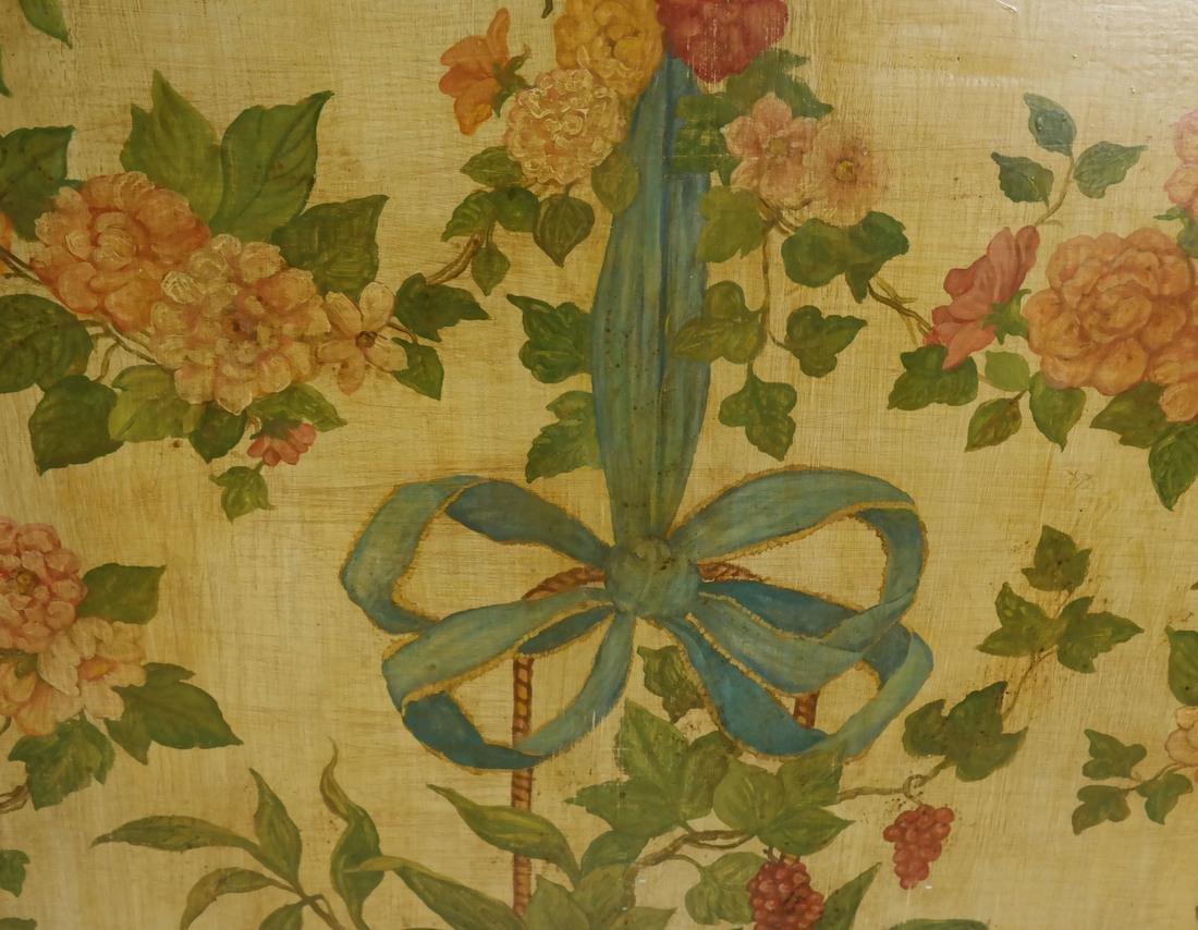Hanging Basket, Oil on Wood - 3