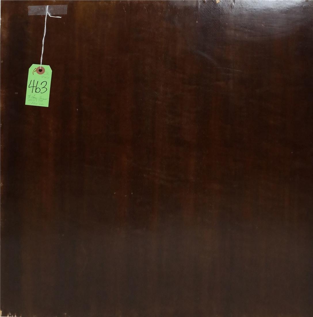 Hanging Basket, Oil on Wood - 4