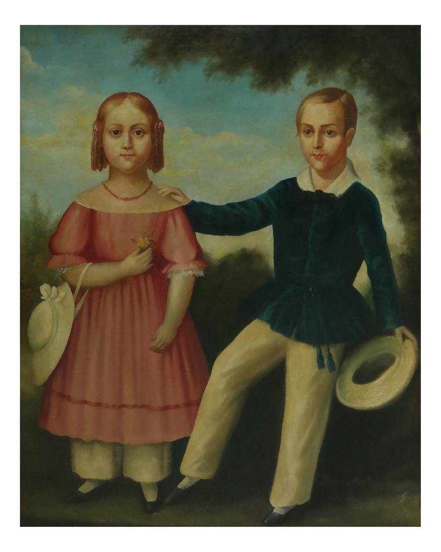 19th Century Folk Art Painting