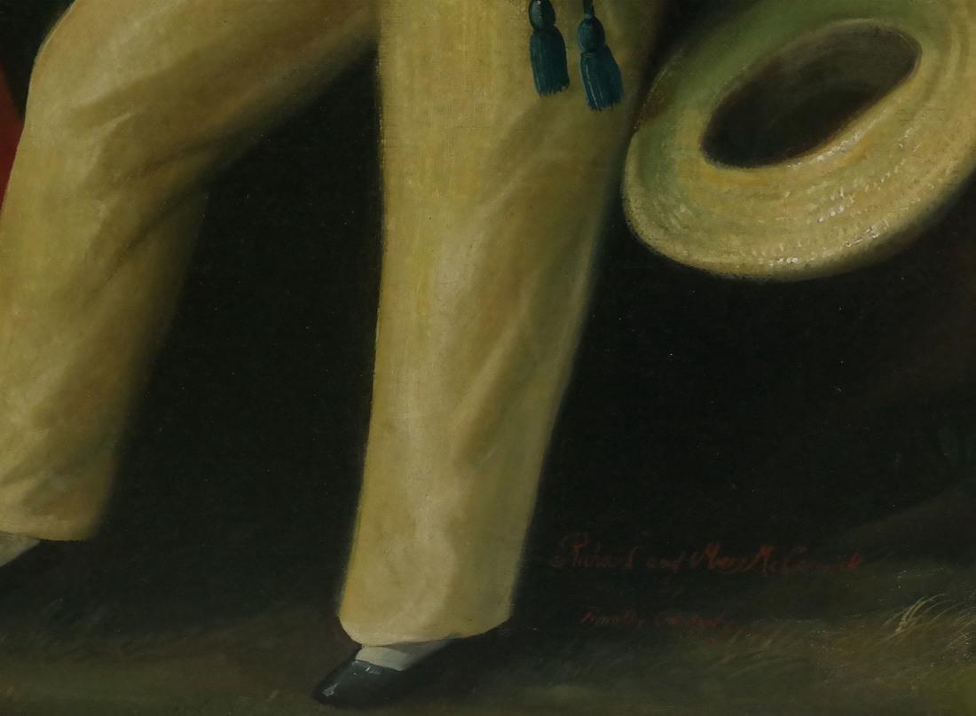 19th Century Folk Art Painting - 3