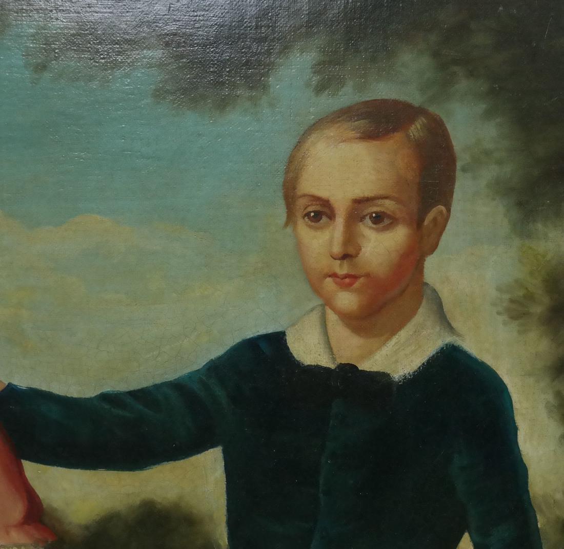 19th Century Folk Art Painting - 4