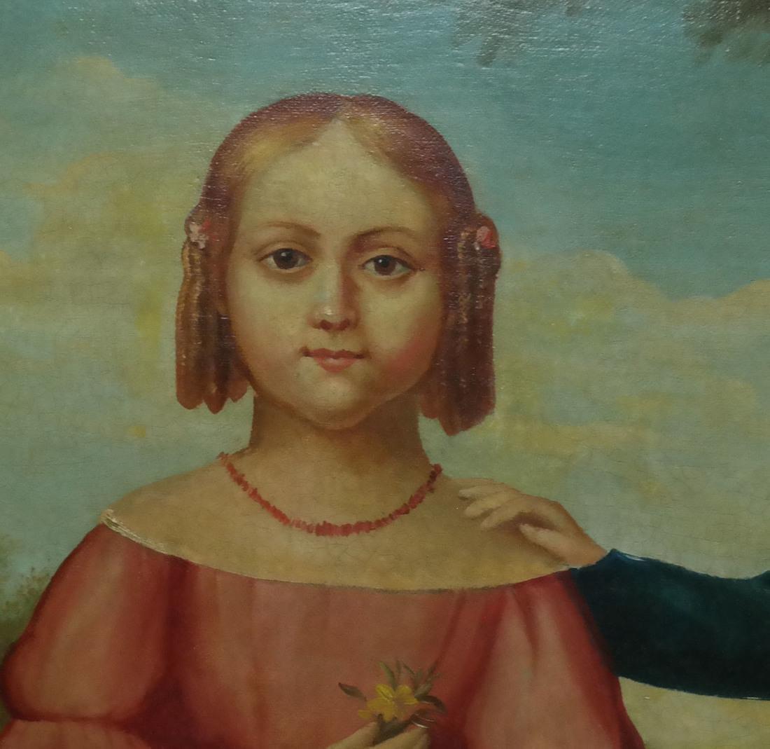 19th Century Folk Art Painting - 5