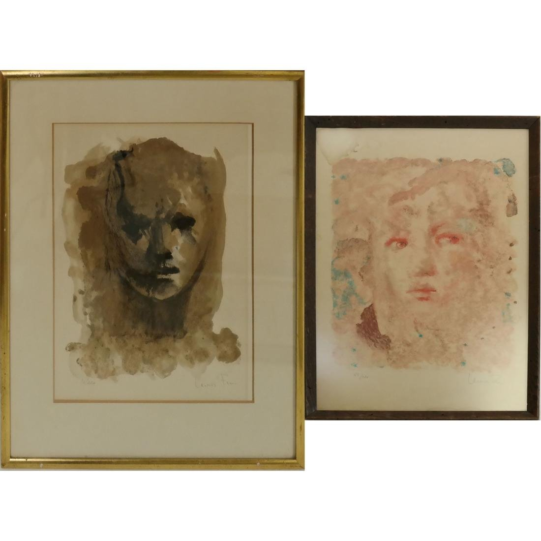 Leonor Fini, Two Figural Prints