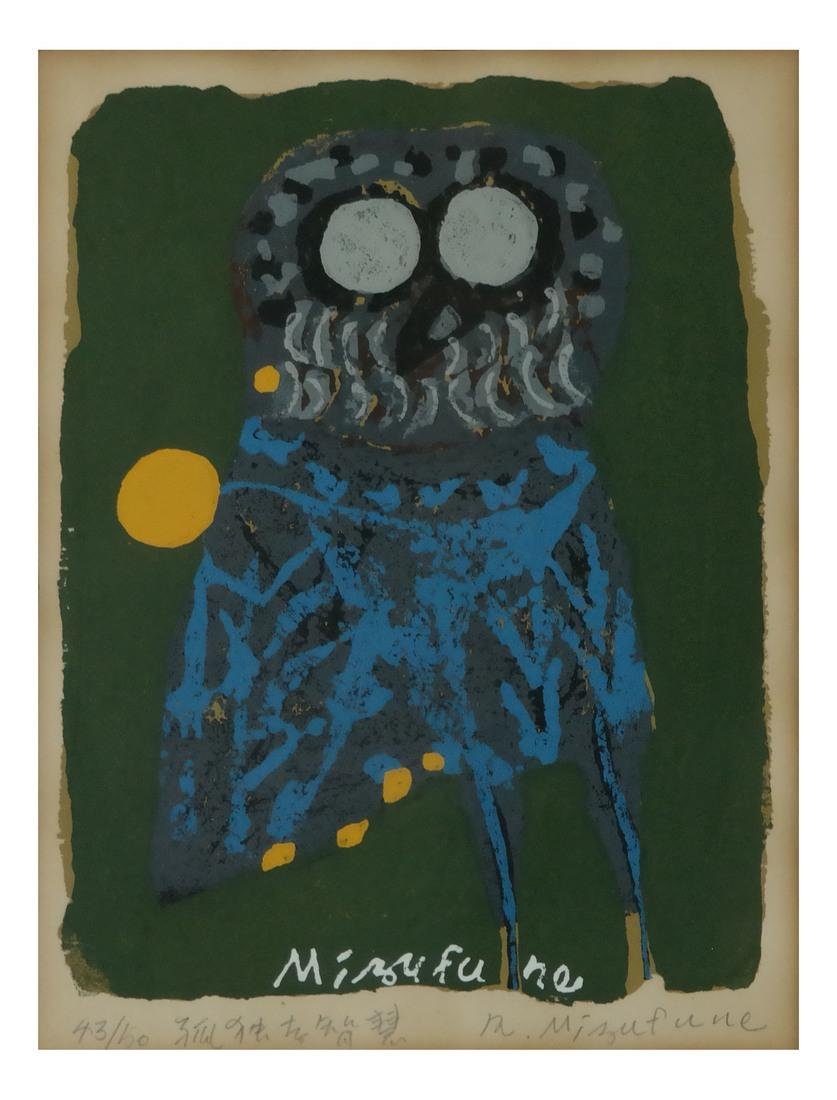 Rokusha Mizufune, Wood Block Print