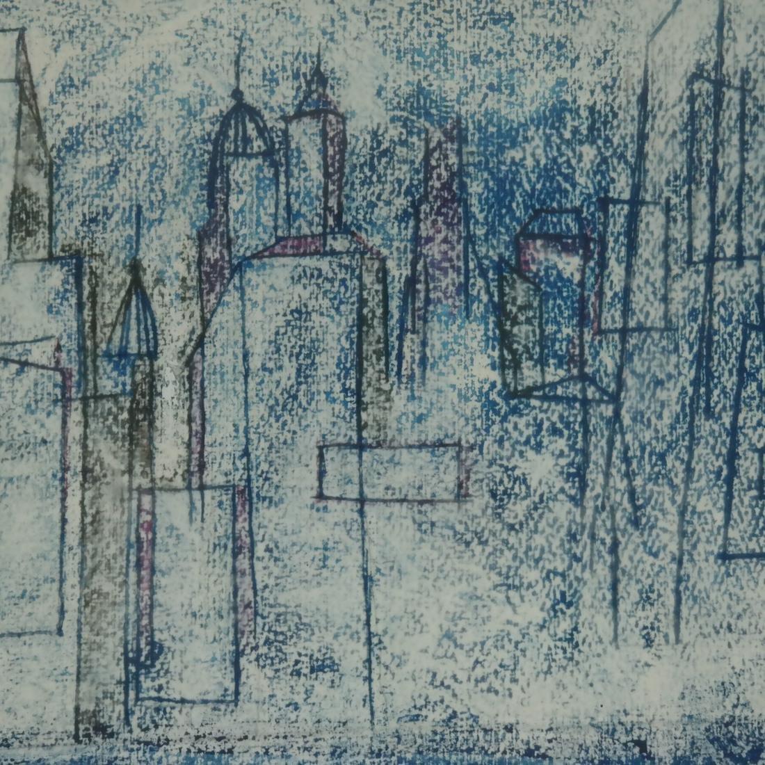Modern City Skyline, Mixed Media - 3