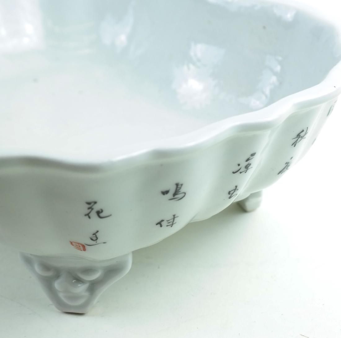 Four Various Asian-Style Ceramic Items - 3