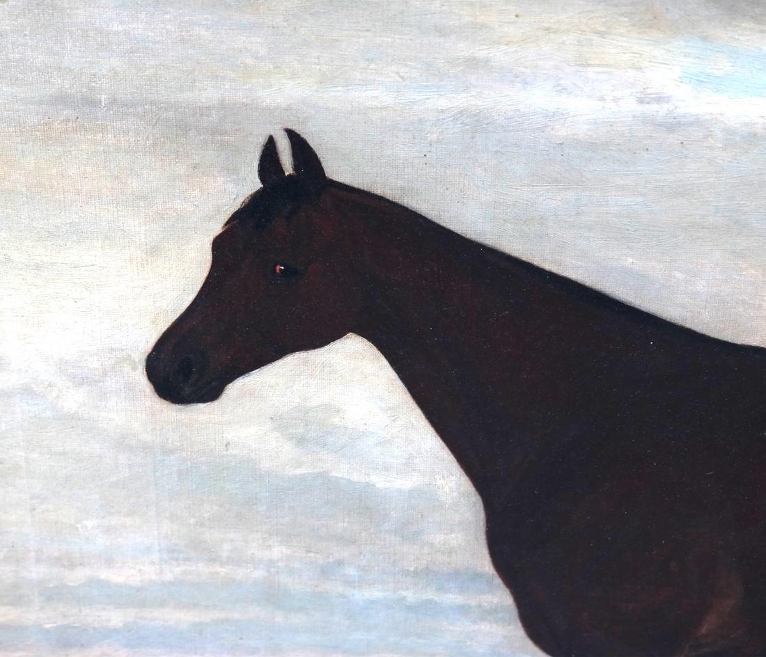 E. Foreus, Horse, Oil on Canvas - 4