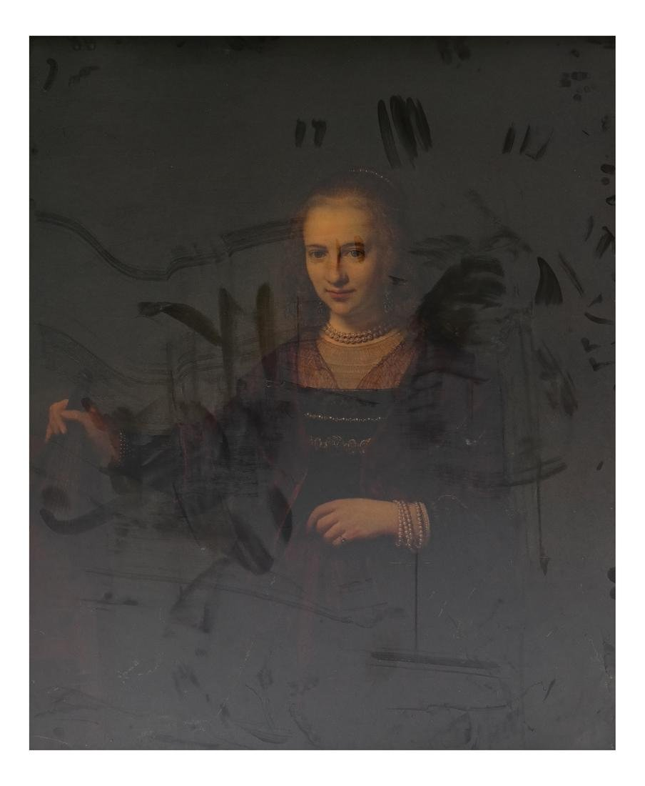 Portrait of a Woman, Print