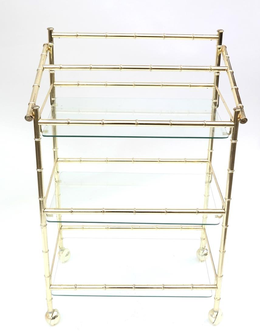 Three-Tier Brass Etagere - 3