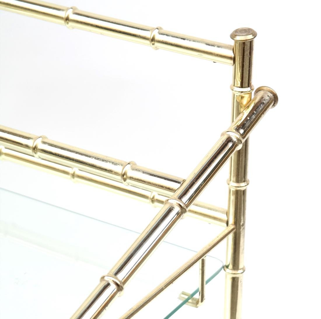 Three-Tier Brass Etagere - 7