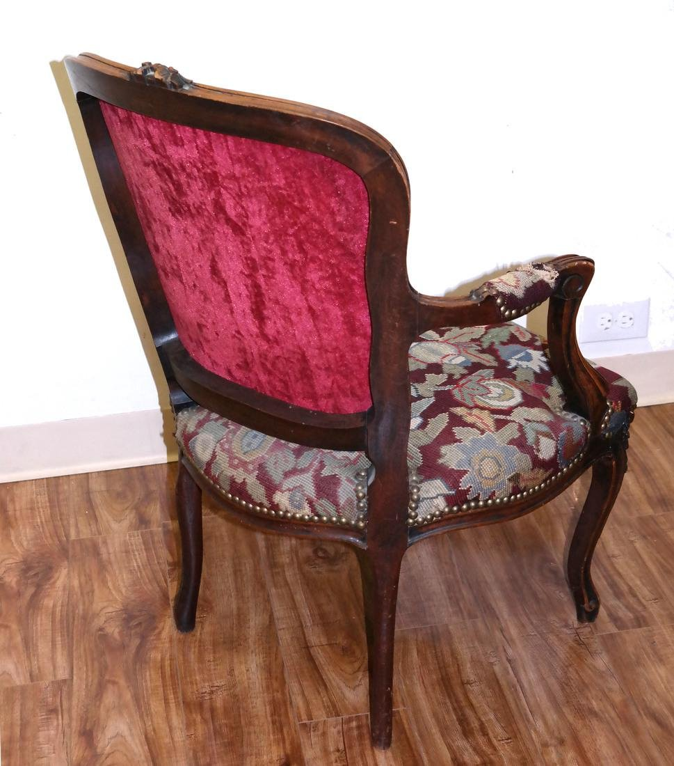 French Needlepoint Armchair - 7