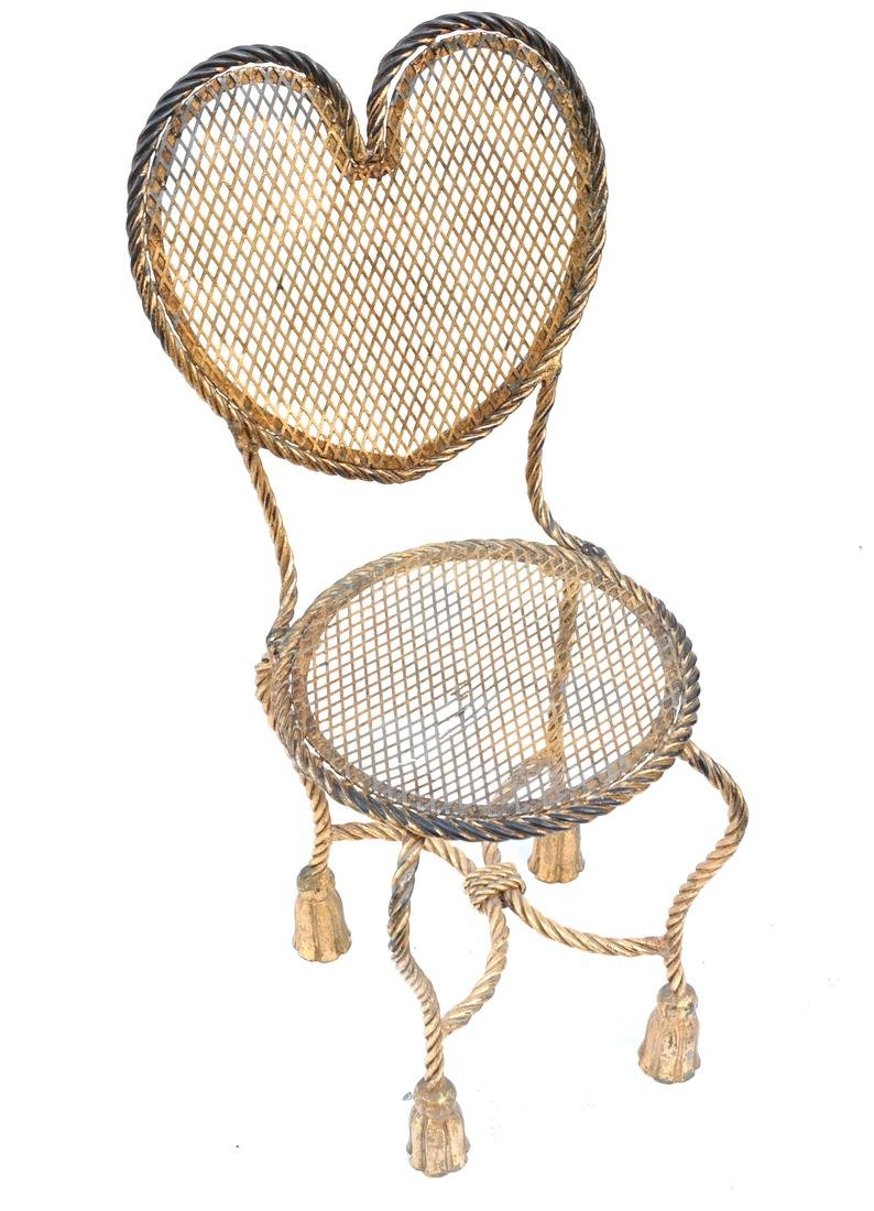 Rope-Form Vanity and Chair - 2
