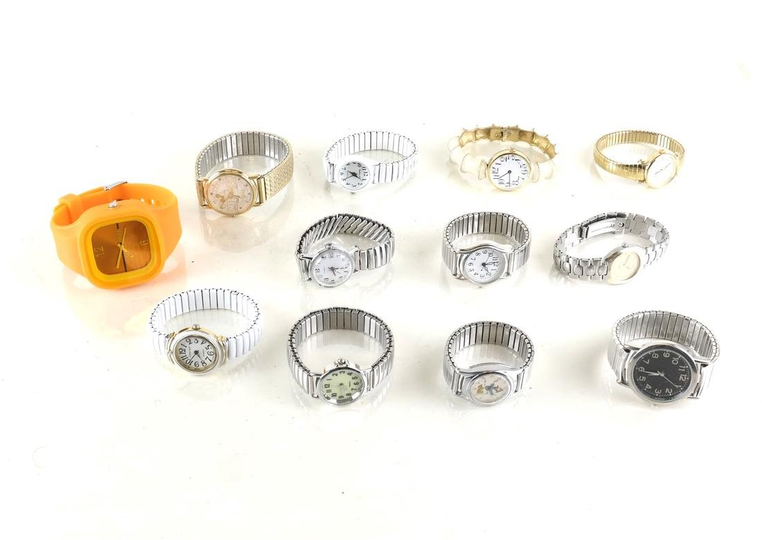 12 Various Wrist Watches