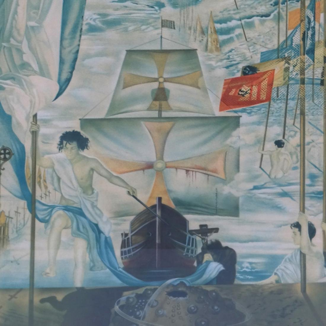 Two Dali Prints, Discovery of America - 3