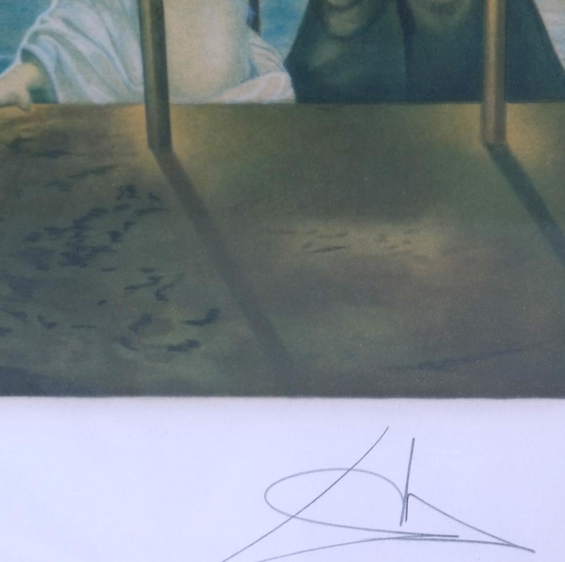 Two Dali Prints, Discovery of America - 4