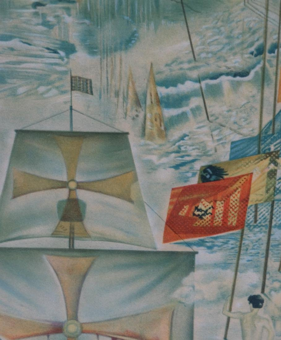 Two Dali Prints, Discovery of America - 5