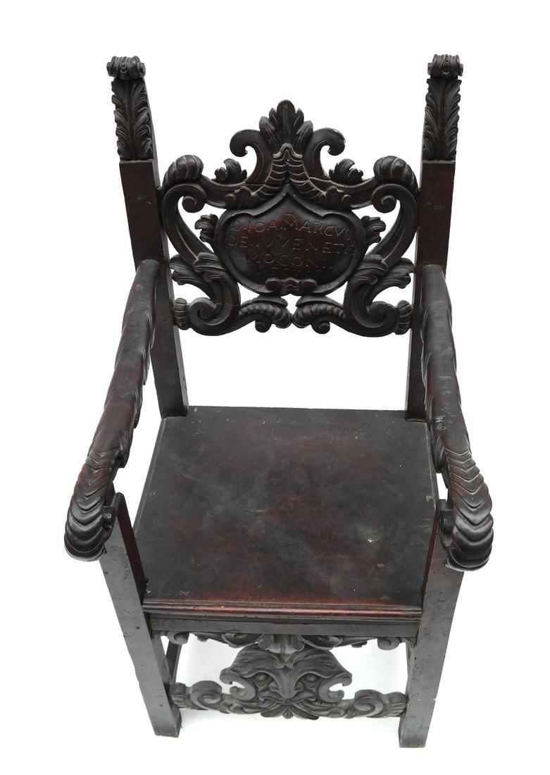 Renaissance-Style Armchair - 3