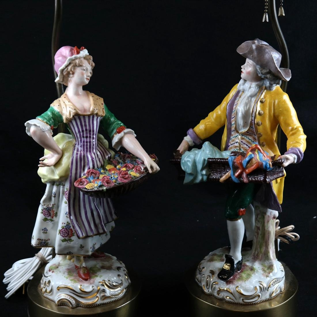 Pair of Figural Lamps - 2