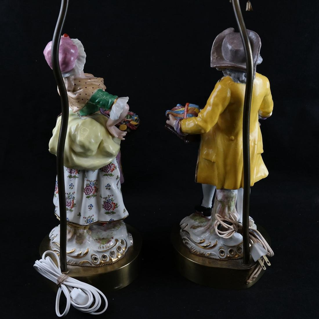 Pair of Figural Lamps - 7