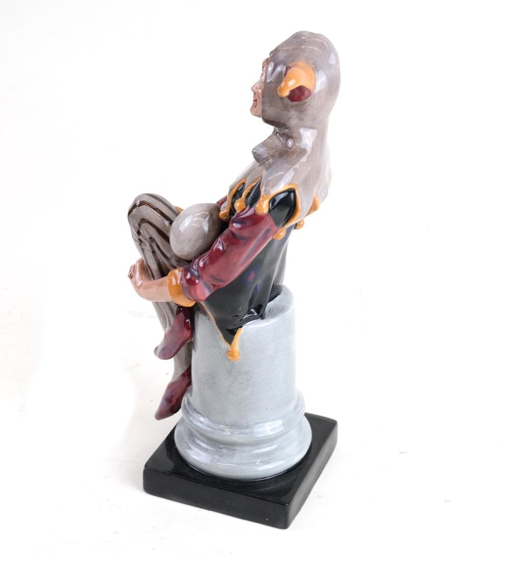 "Royal Doulton Figure, ""The Jester"" - 2"