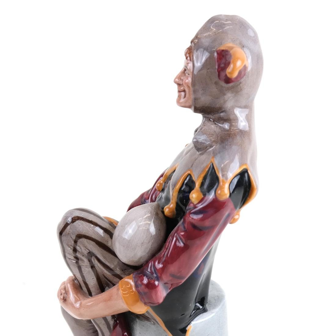 "Royal Doulton Figure, ""The Jester"" - 3"