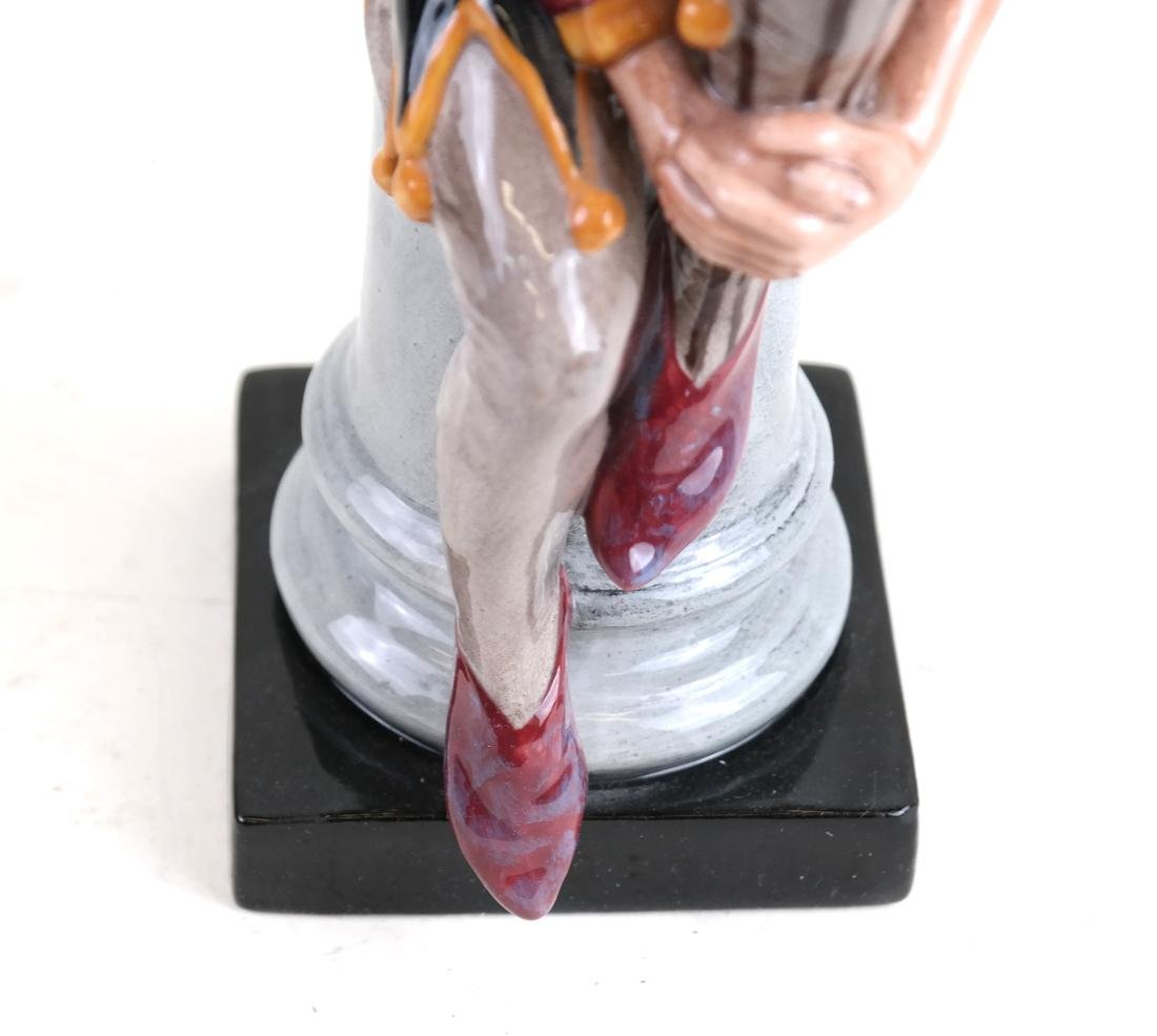 "Royal Doulton Figure, ""The Jester"" - 5"