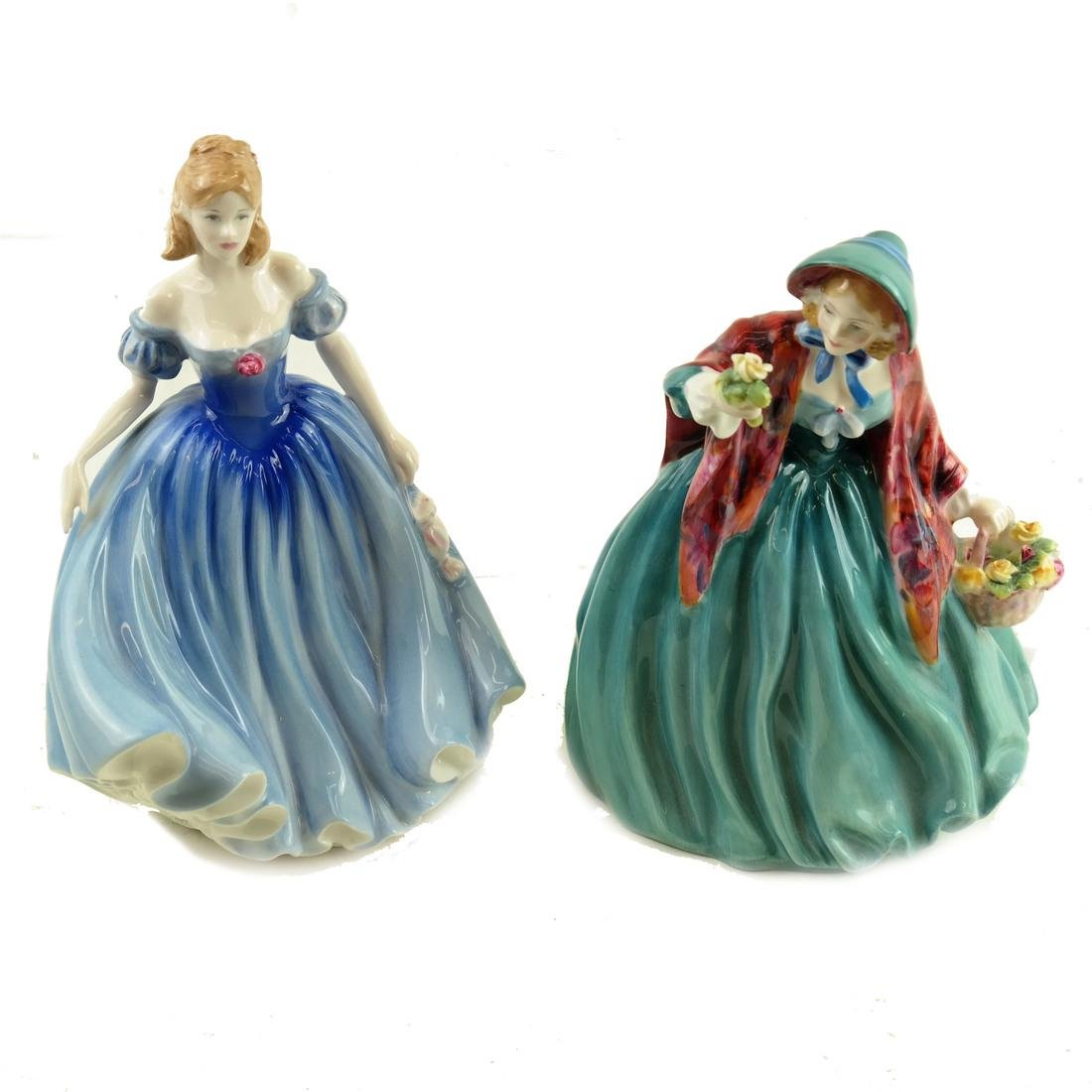 Two Royal Doulton Female Figurines