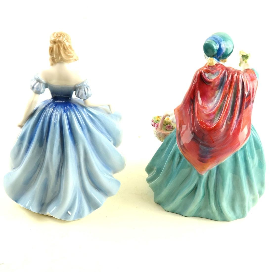 Two Royal Doulton Female Figurines - 2