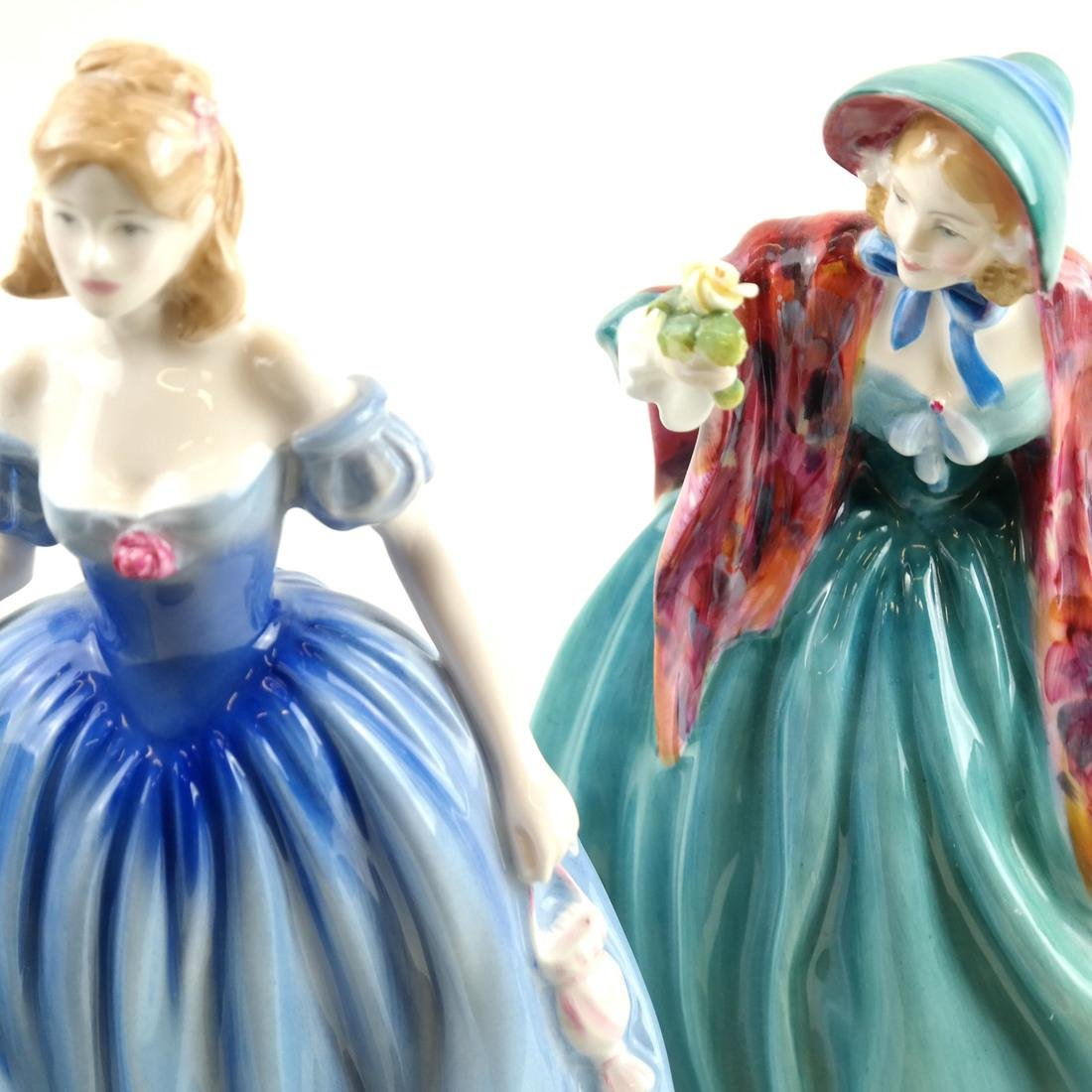 Two Royal Doulton Female Figurines - 3