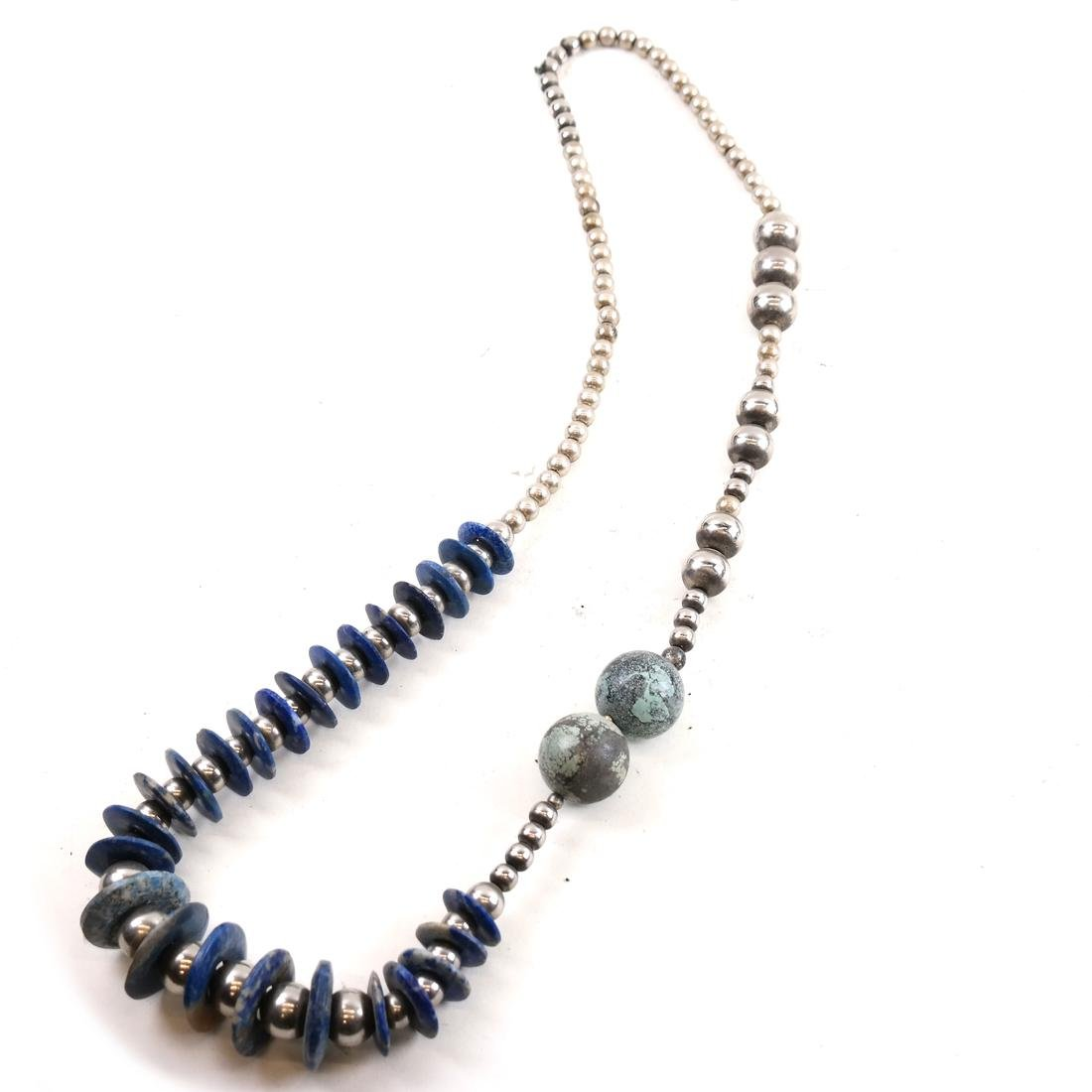 Asymmetrical Hardstone Necklace