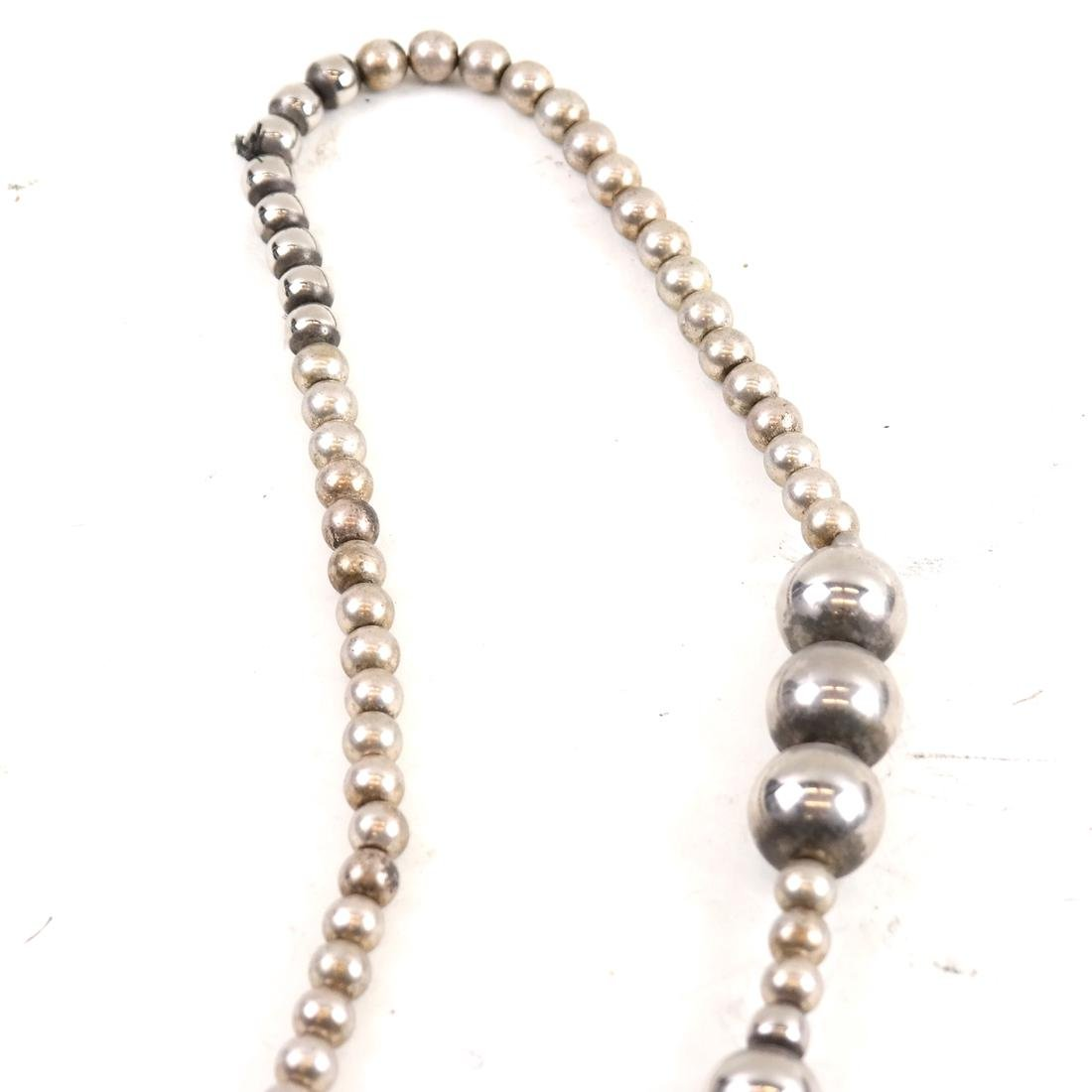 Asymmetrical Hardstone Necklace - 4