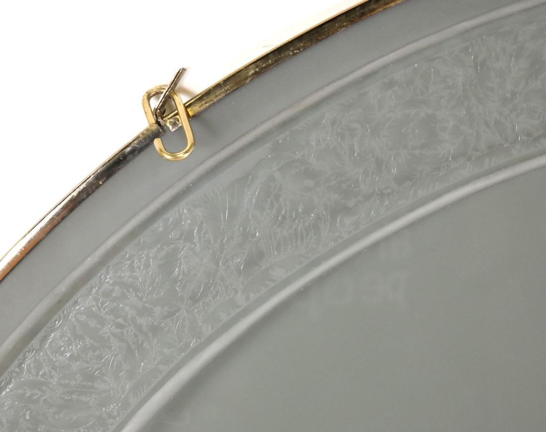 Art Nouveau-Style Glass Rondel - 4