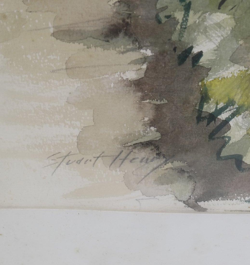 2 Italian Landscapes, Framed Watercolors - 6