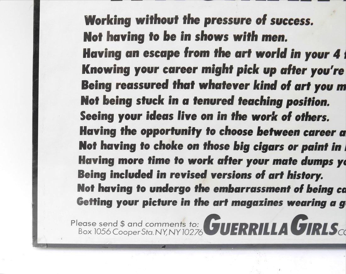 Guerilla Girls' Poster & Paper Bag - 3