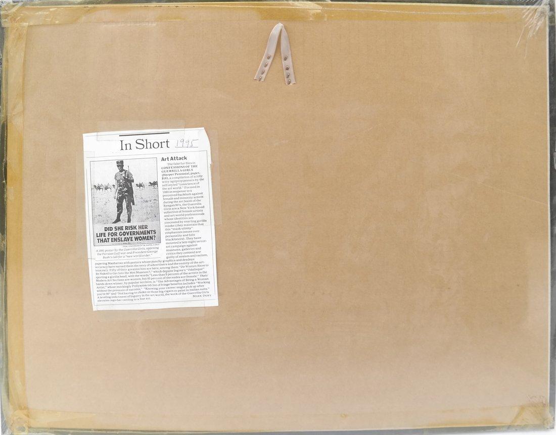 Guerilla Girls' Poster & Paper Bag - 5