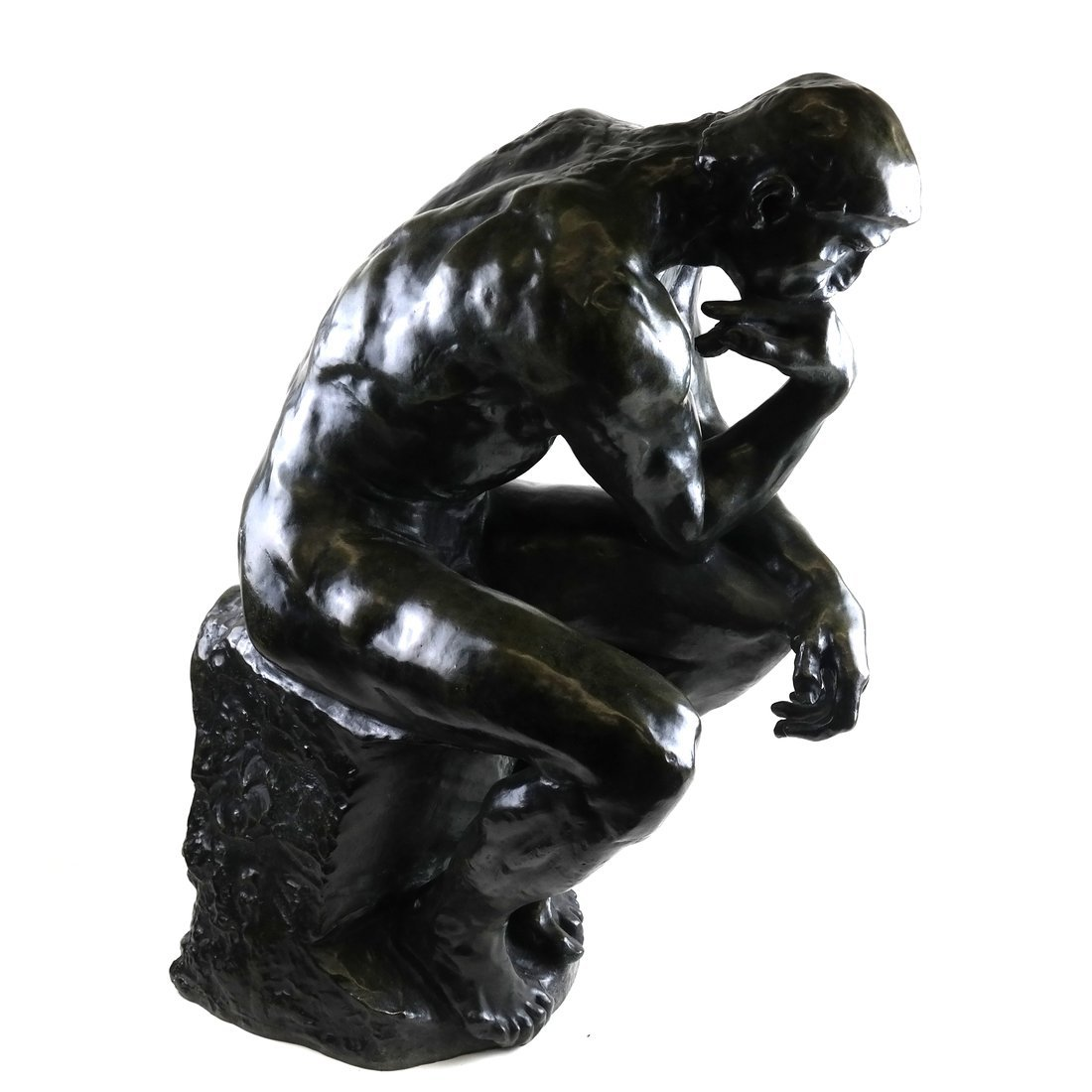 After Rodin, The Thinker, Bronze Figure