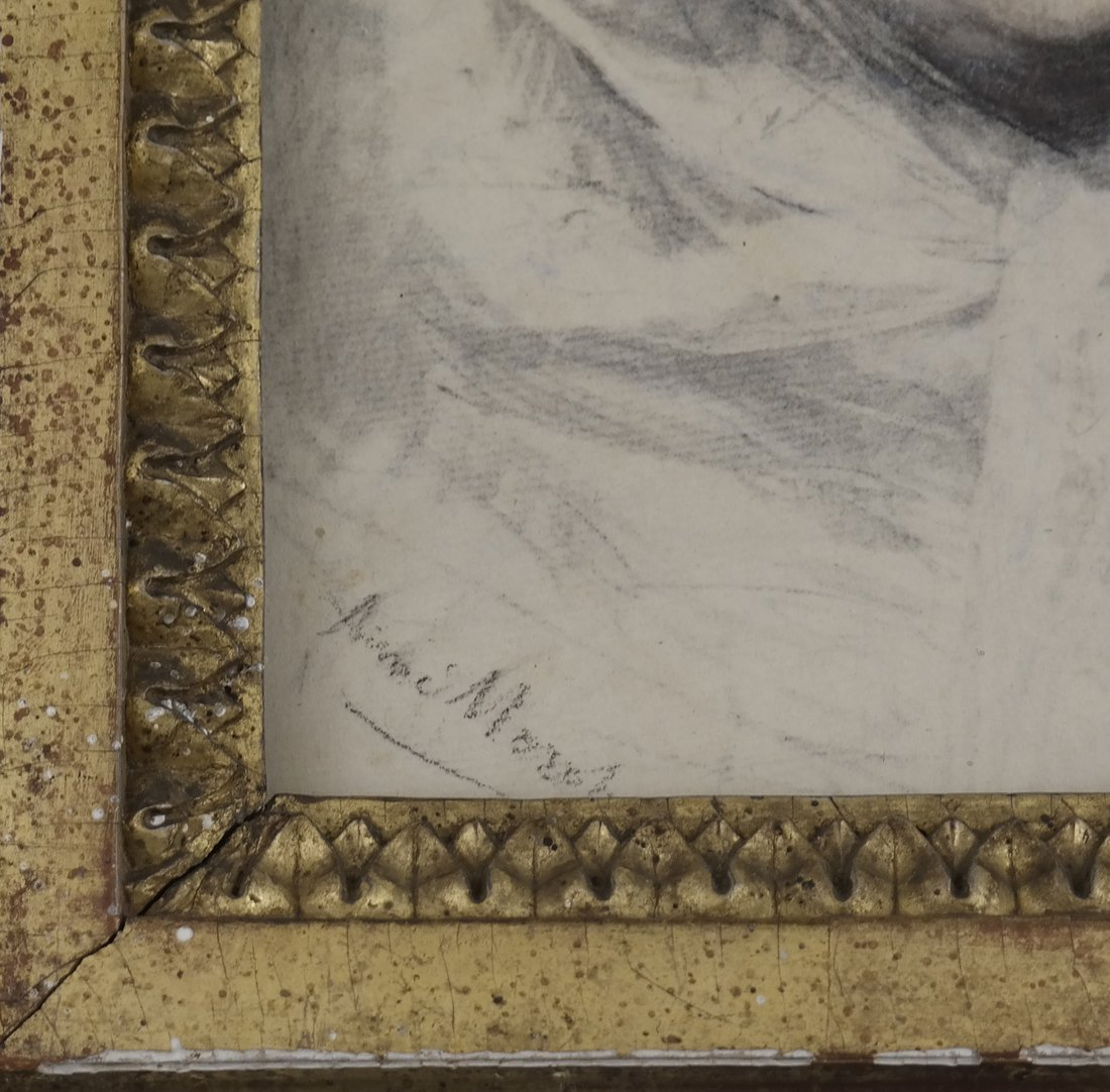 Aime Morot, Framed Portrait of a Lady - 3