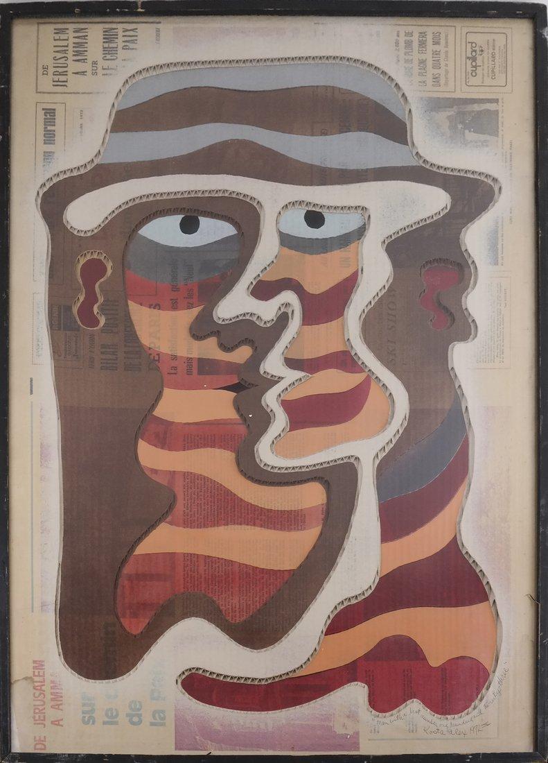 Kosta Alex, Man with Hat (123) Collage - 2