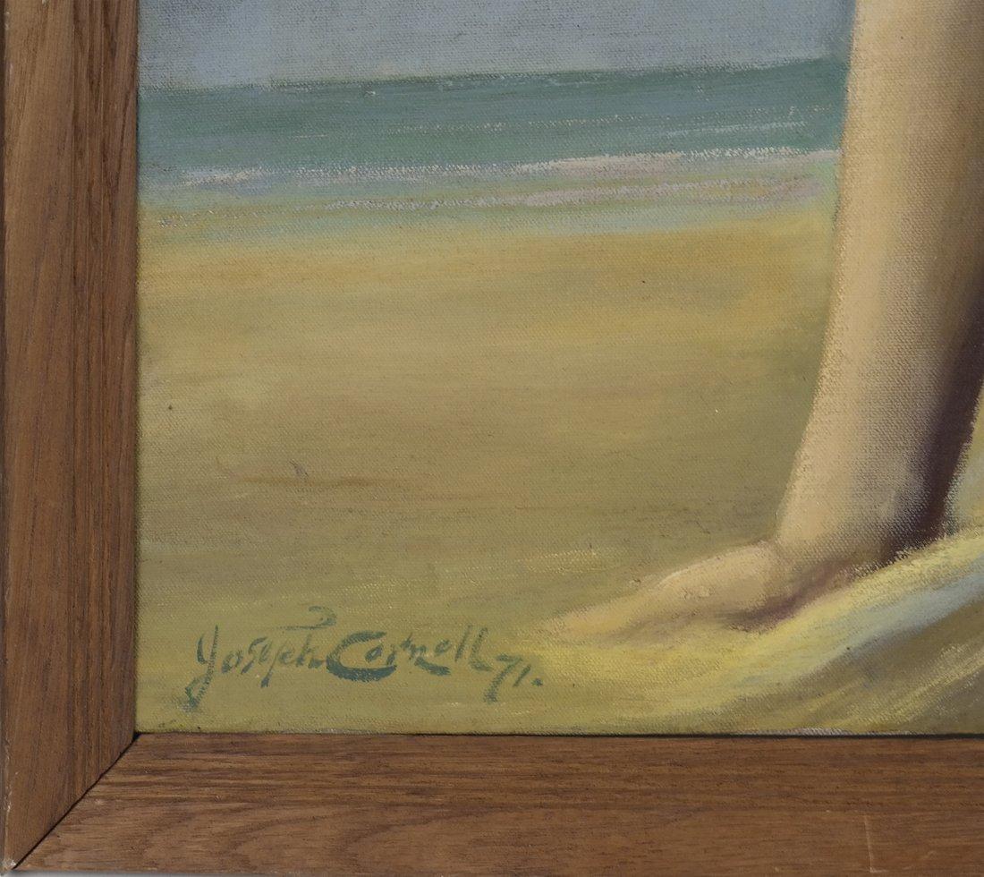 Joseph Cornwell, Nude at Beach, o/c - 4