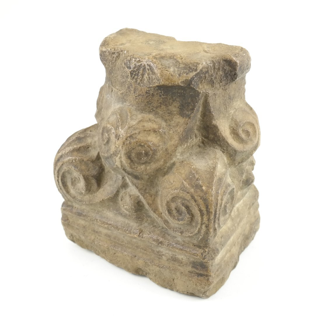 Ancient-Style Stone Pilaster Capital