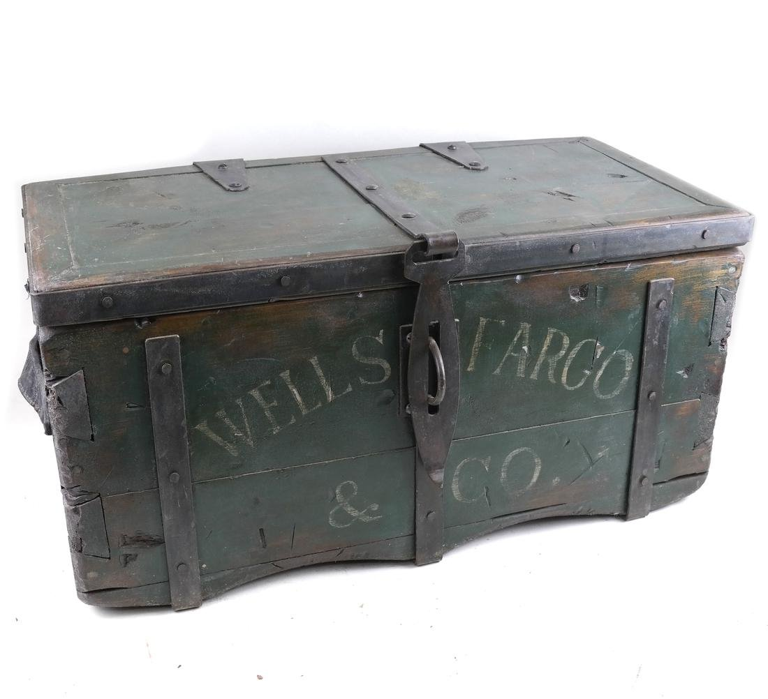 Wooden Wells Fargo Trunk
