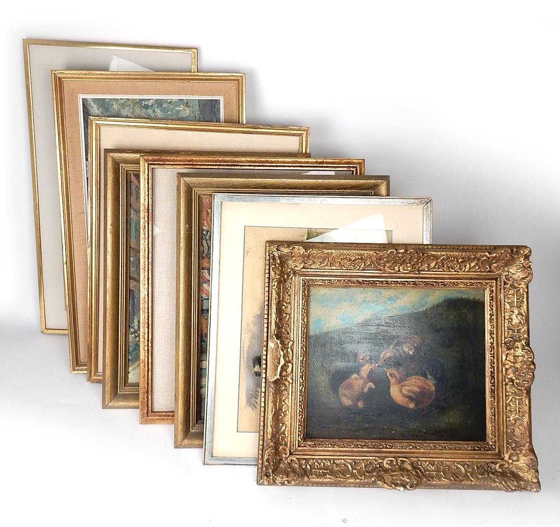 Ten Framed Works of Art