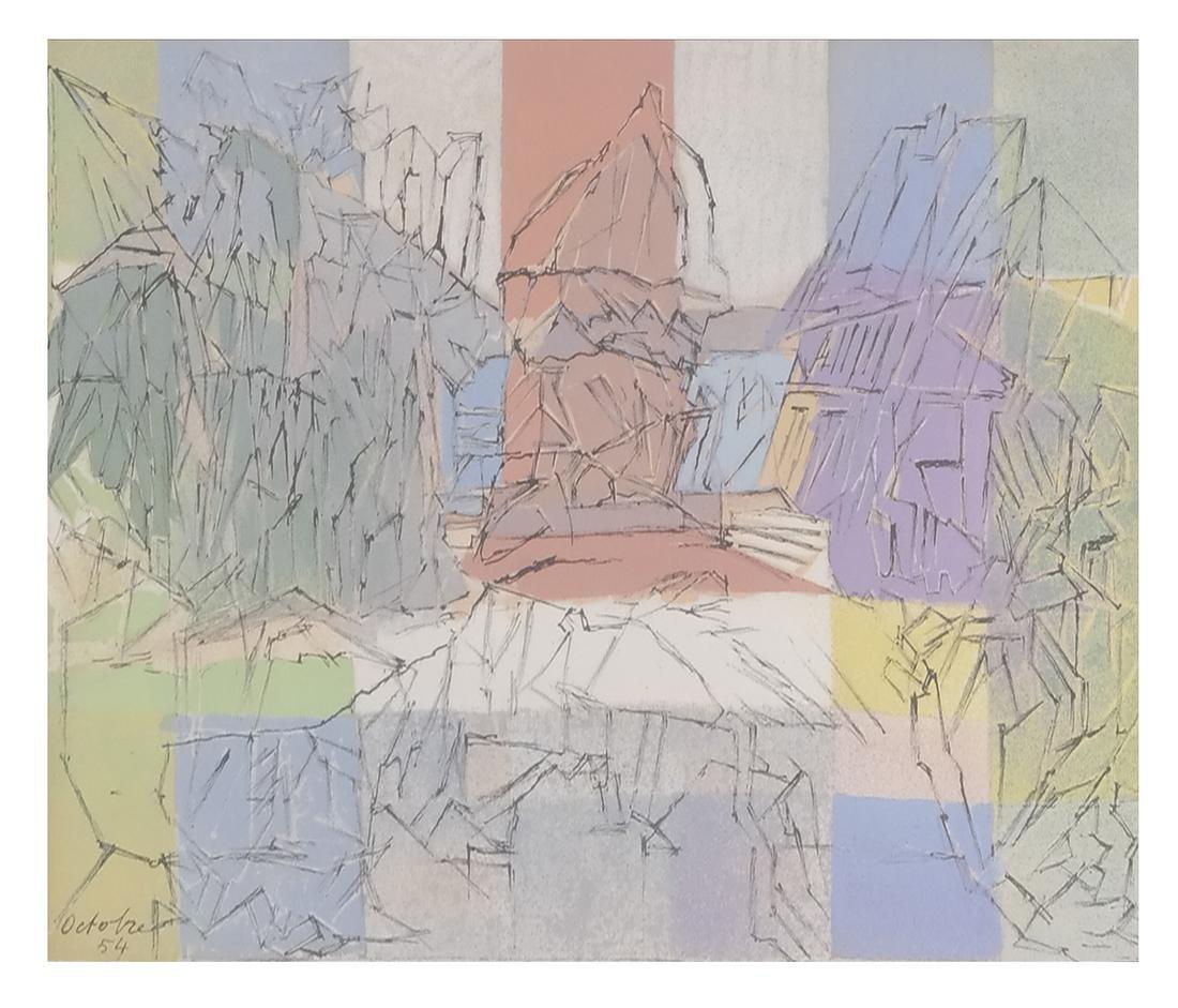 Jacques Villon Abstract