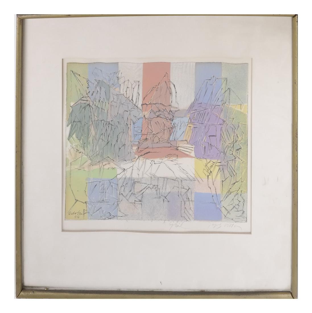 Jacques Villon Abstract - 2