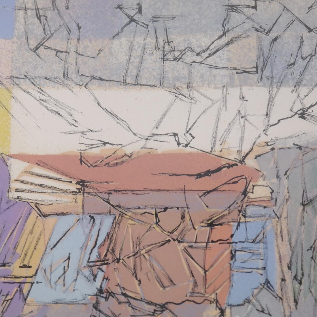 Jacques Villon Abstract - 3