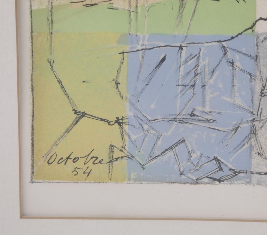 Jacques Villon Abstract - 4