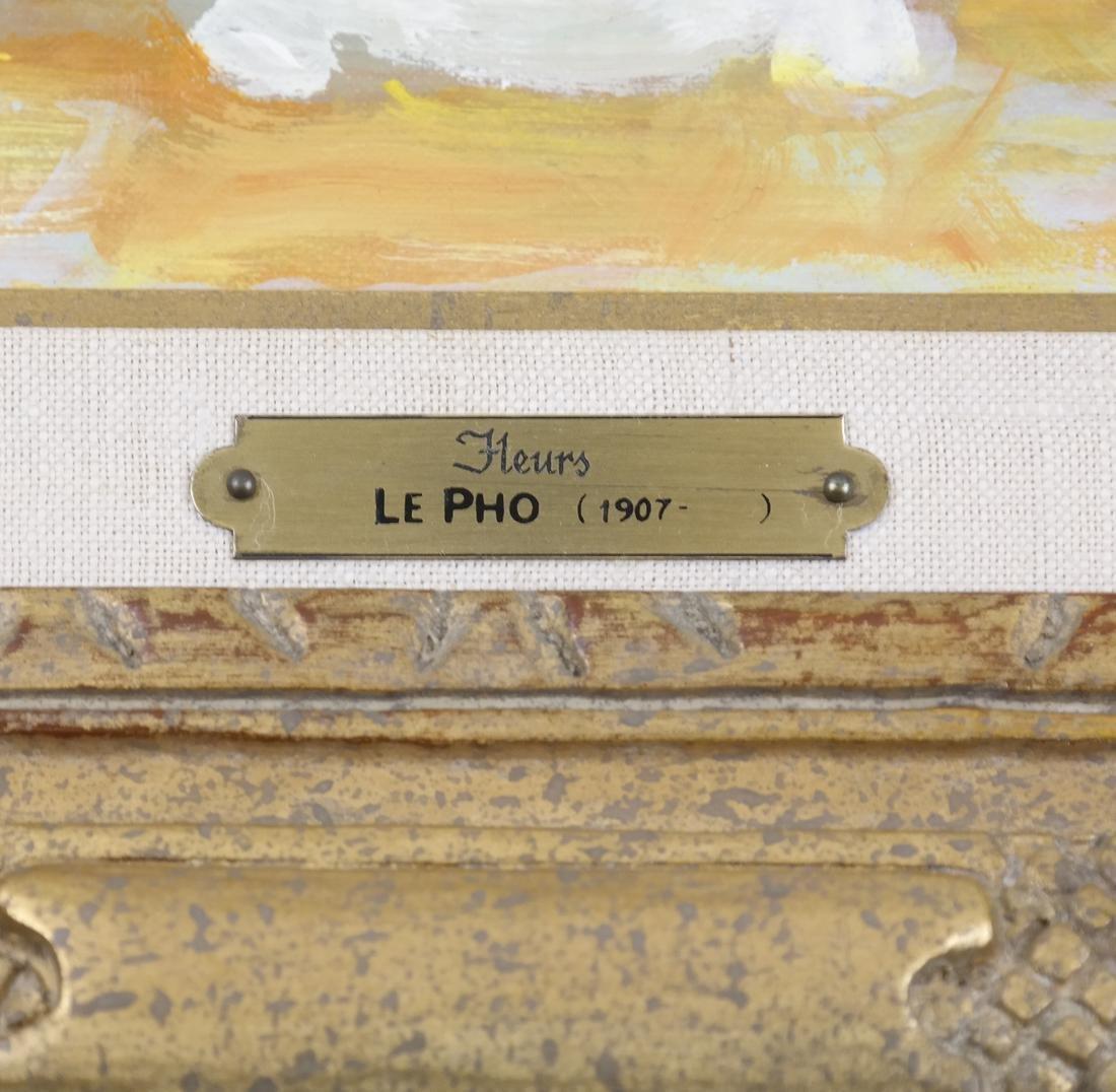 """Le Pho , """"Bouquet de Fleurs"""" - 3"""
