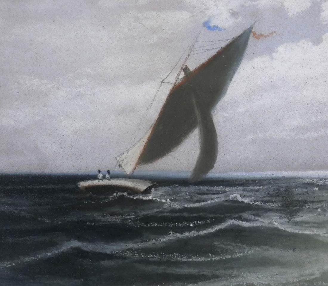 After A. T. Bricher, Sailing Scene - 5